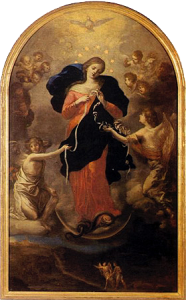 Our Lady, Undoer of Knots, Ora pro nobis.
