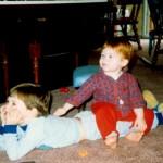 Justin and Ryan, 1990.